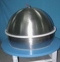 Partial surface tension propellant tank