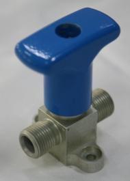 Manual break valve