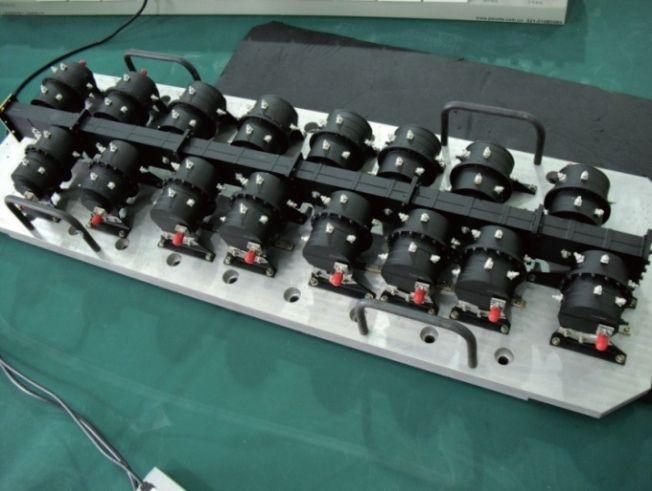 C Band dual mode cylinder cavity OMUX