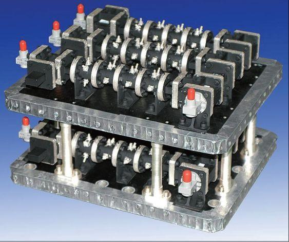 Ka Band dual mode cylinder cavity IMUX