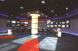 TV program coding and broadcasting center