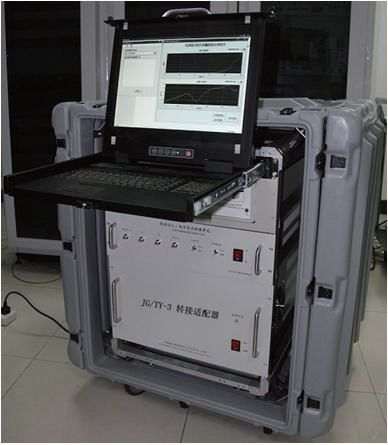 Power bus output impedance test system